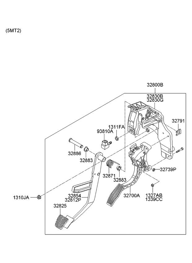 2011 kia sedona accelerator-pedal