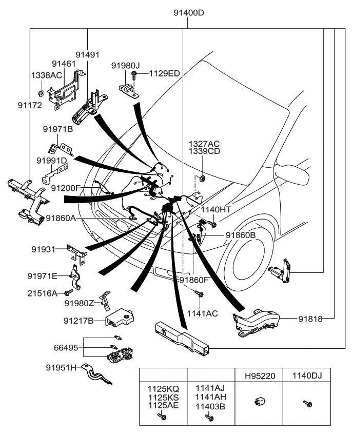 2013 Kia Sedona Control Wiring