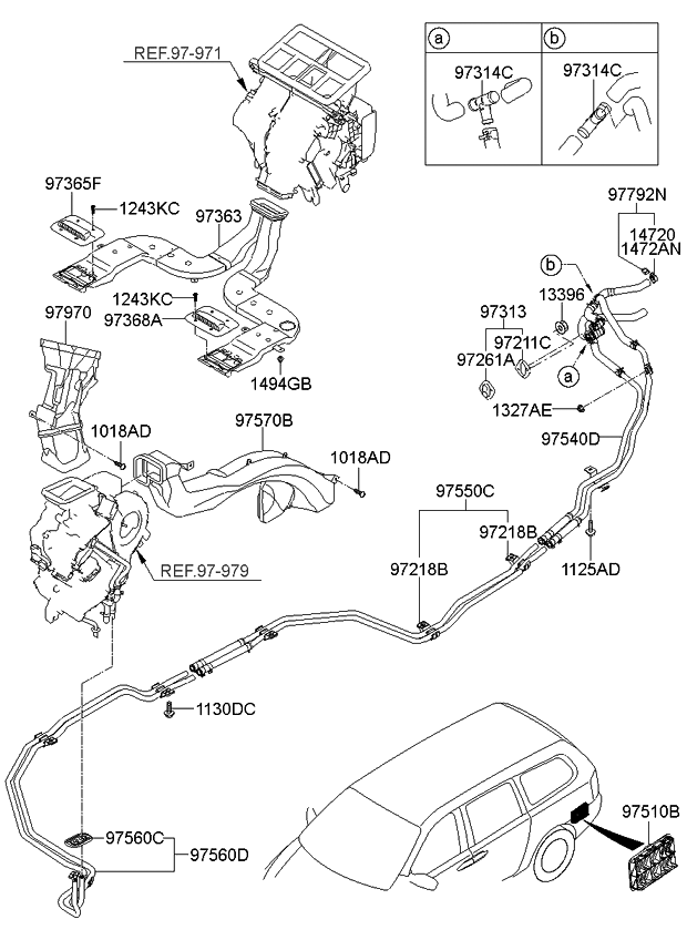 2007 Kia Sedona Engine Diagram