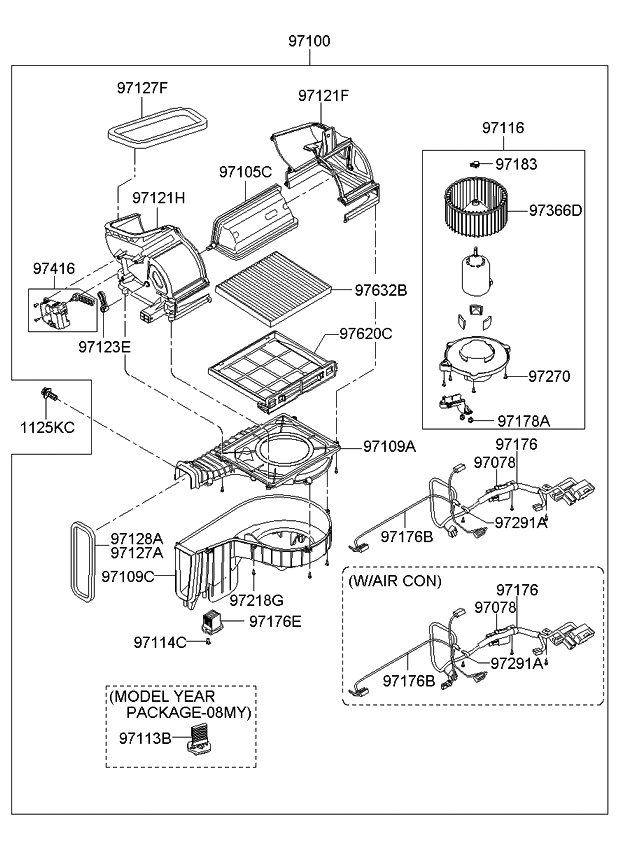 2006 Kium Sportage Engine Diagram