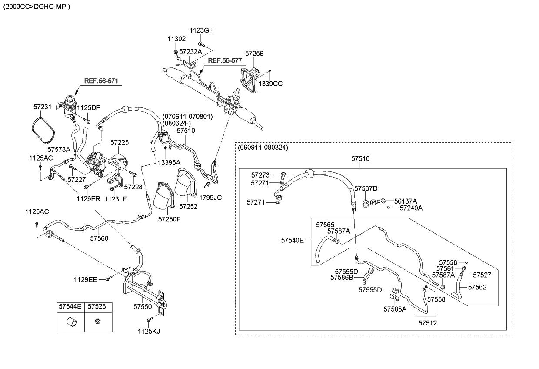 571702d101 genuine kia belt v power steering rh kiapartsnow com Kia Engine Diagram Kia Sorento Parts Diagram
