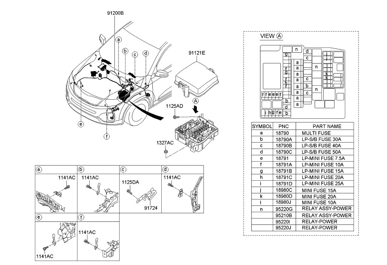 [WRG-1299] 2013 Kia Sorento Wiring Diagram