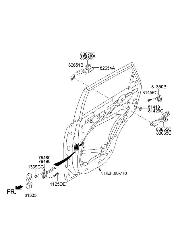 2014 Kia Sorento Parts Diagram