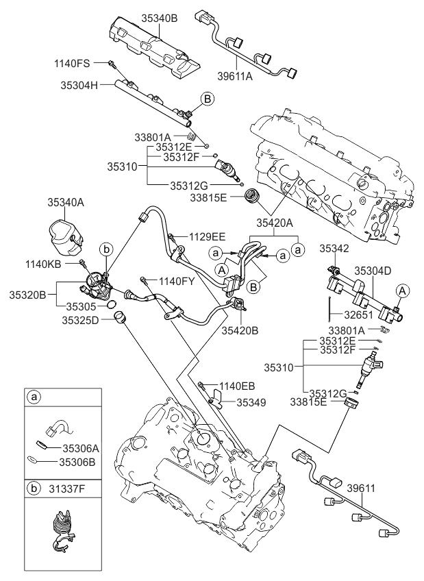 2014 Kia Sorento Throttle Body & Injector - Kia Parts Now