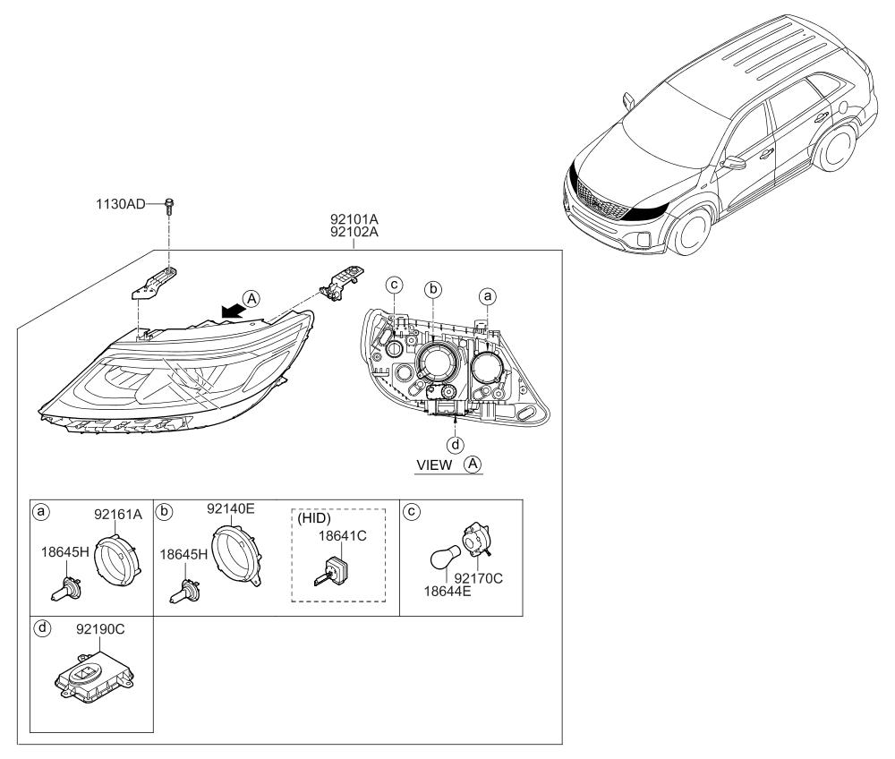 2014 Kia Sorento Tail Light Assembly ~ Best KIA