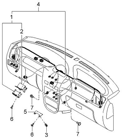 Wiring Diagram For 2004 Mitsubishi Endeavor further 1998 Ford Contour Engine Diagram further Kia Wiring Assy Ins 1k32a67030j together with T13134268 Serpentine belt diagram 2010 honda additionally Geo Tracker Engine Diagram. on price of fuse box