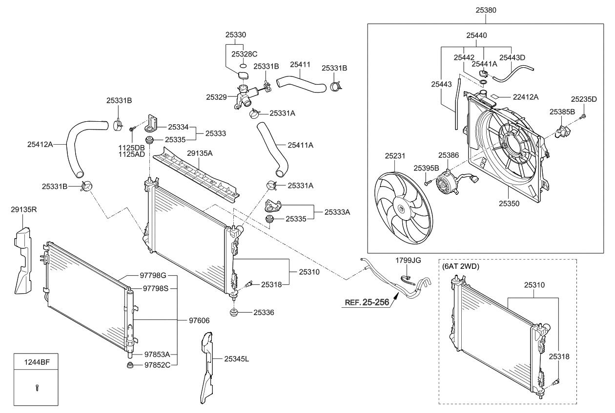 253801w102 genuine kia blower assembly rh kiapartsnow com Kia Sedona Parts Diagram Kia Sedona Starter Diagram