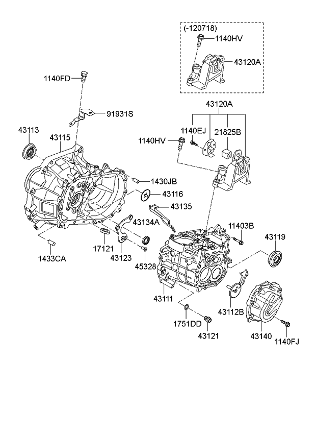 Phenomenal 2014 Kia Rio Transaxle Case Manual Kia Parts Now Wiring Cloud Favobieswglorg