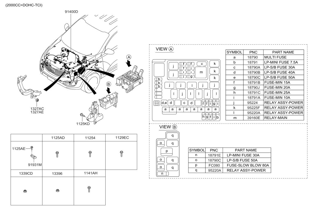 Kia Sportage 2014 Wiring Diagram Espaol