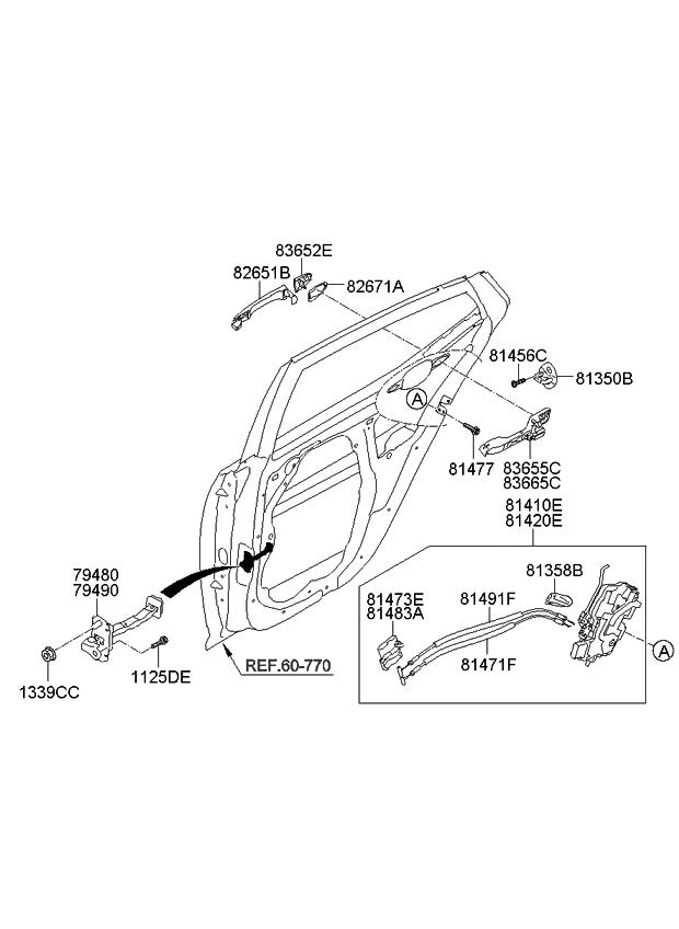 2012 Kia Optima Hybrid Rear Door Locking