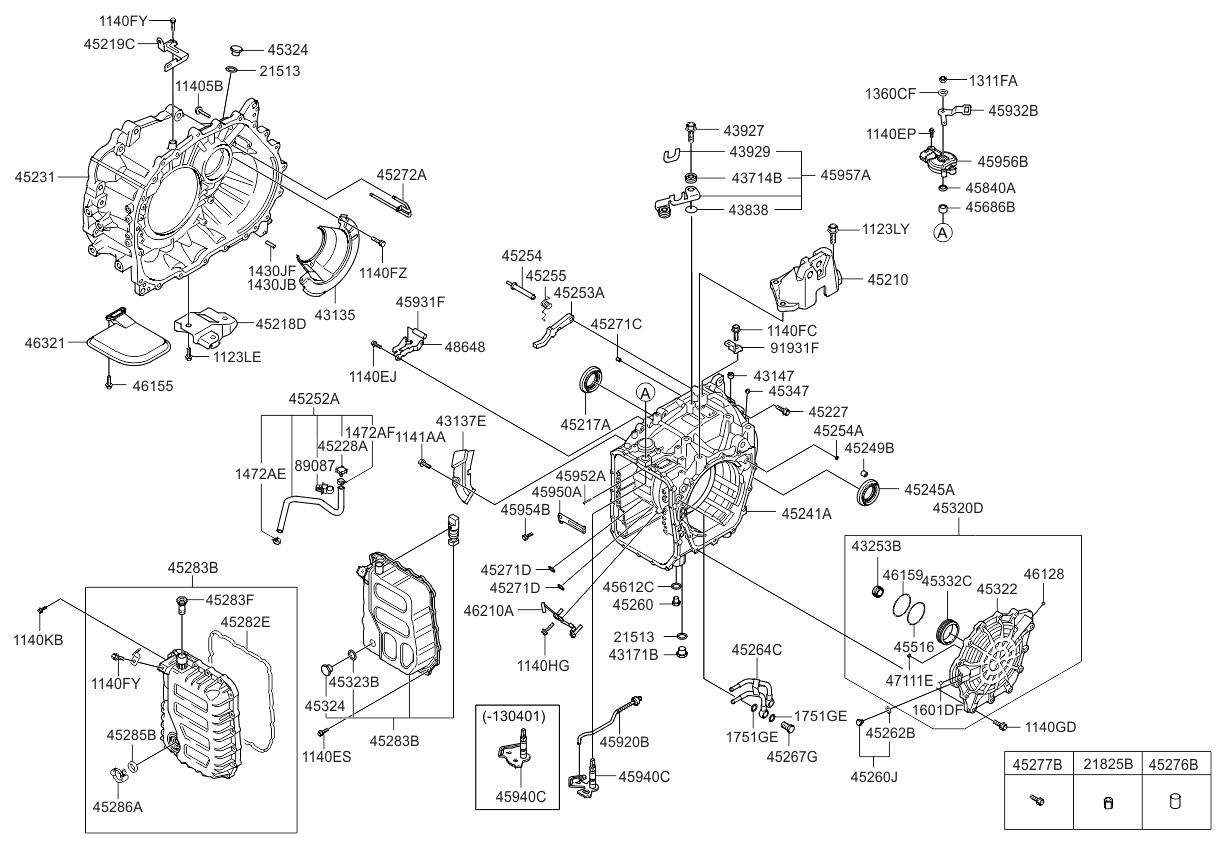 452803b011 Genuine Kia Cover Valve Body 2012 Optima Engine Diagram Us Georgia Made Auto Transmission Case