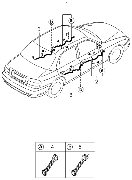 Diagram  1995 Kia Sephia Wiring Diagram Original Full