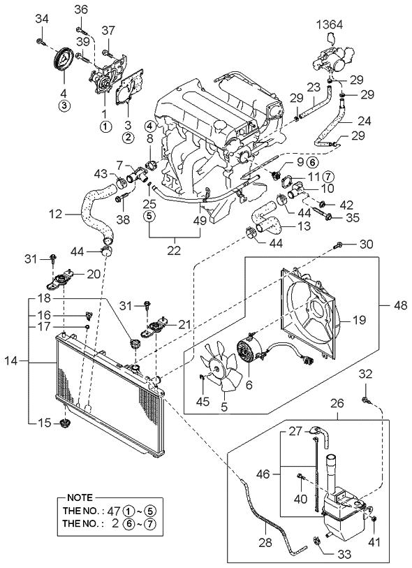 0K2AB15150A - Genuine Kia MOTOR-FANGenuine Kia Parts