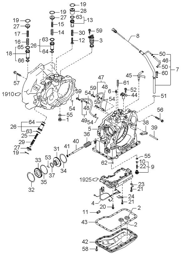 1997 Kium Sephium Engine Diagram