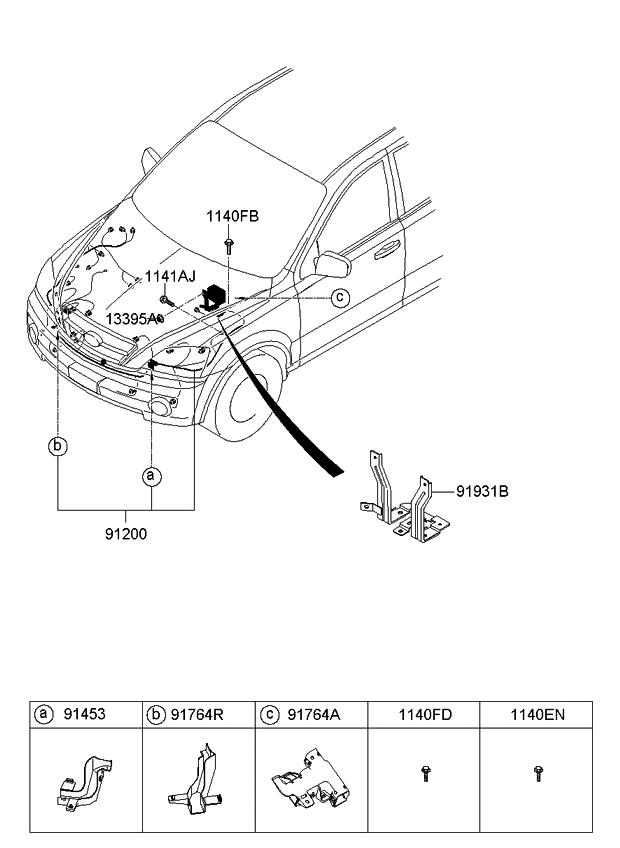 2007 kia sorento engine wiring kia parts now rh kiapartsnow com
