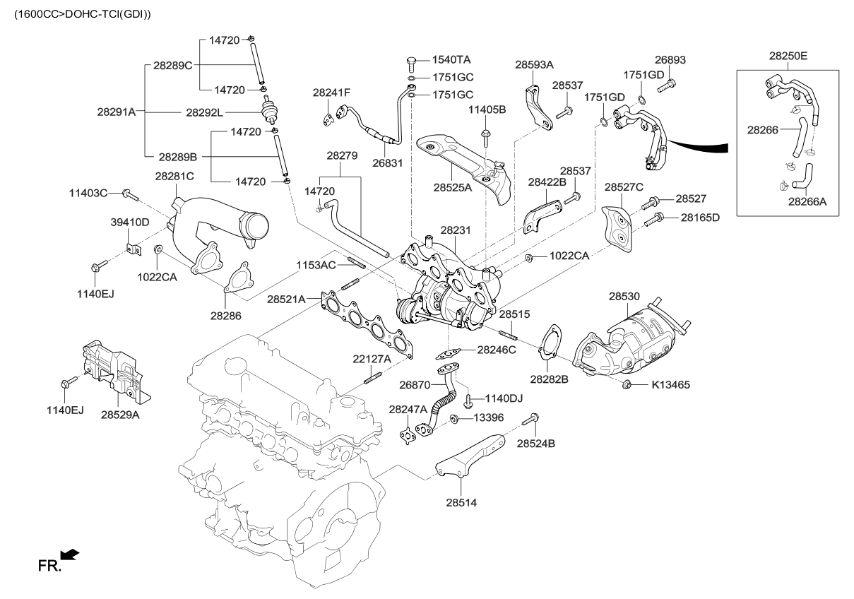 Kia Forte Engine Diagram Wiring Library 2016 Koup Exhaust Manifold