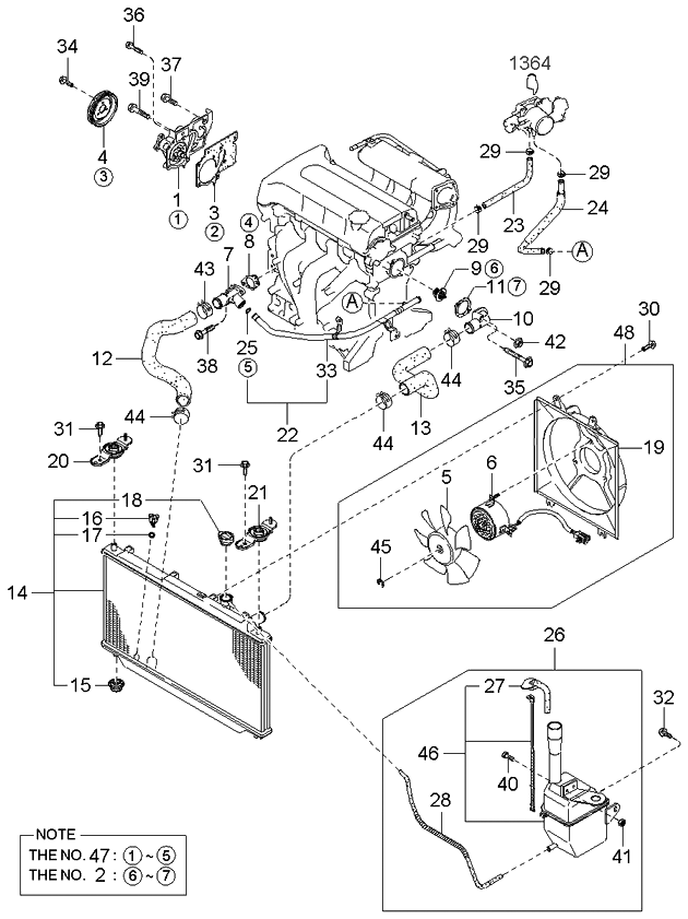 Wiring Diagram PDF: 2003 Kia Spectra Engine Diagram