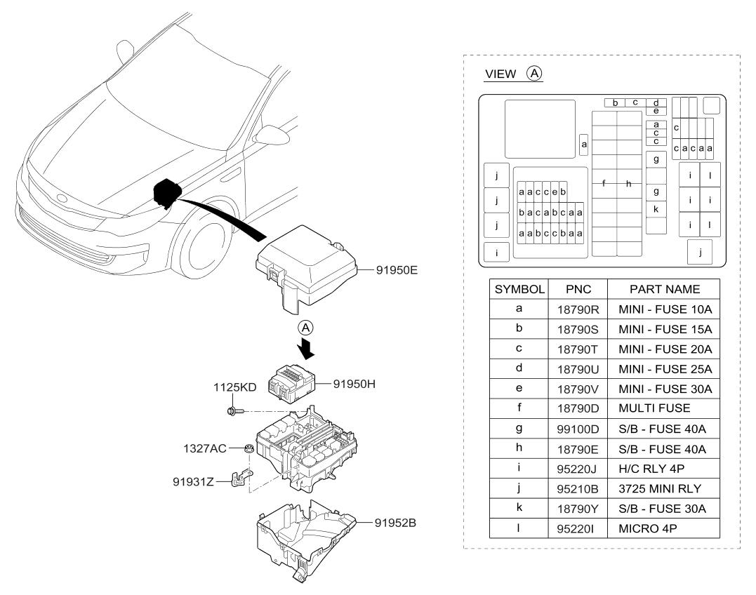 2017 Kia Optima Front Wiring Parts Now Fog Light Diagram Thumbnail 1