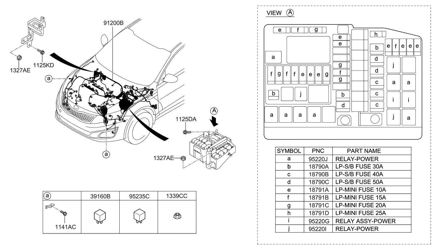 2015 kia optima korean made front wiring kia parts now rh kiapartsnow com 2015 kia optima wiring diagram horn 2015 kia optima wiring diagram
