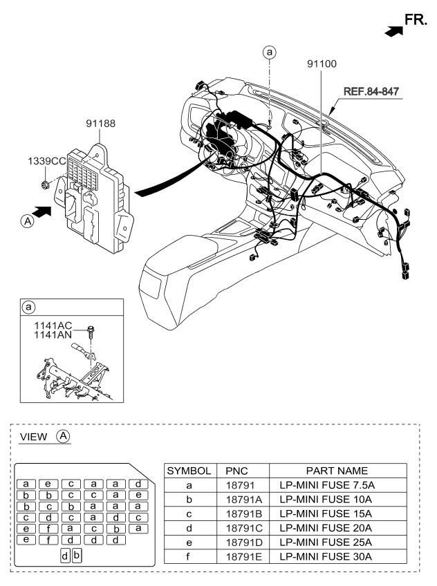 910042t010 genuine kia wiring assembly main. Black Bedroom Furniture Sets. Home Design Ideas