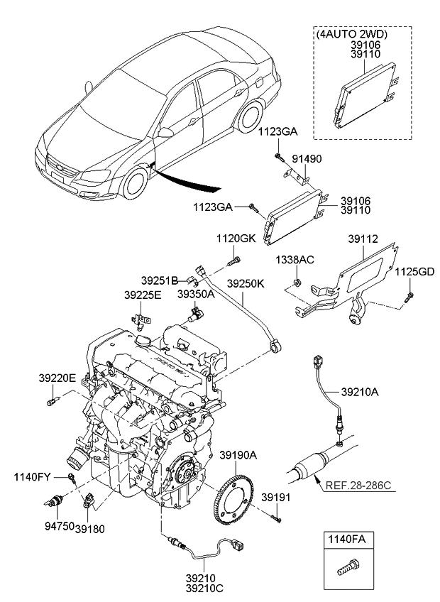 Sencor Kia Spectra Engine Diagram - Wiring Diagrams List on
