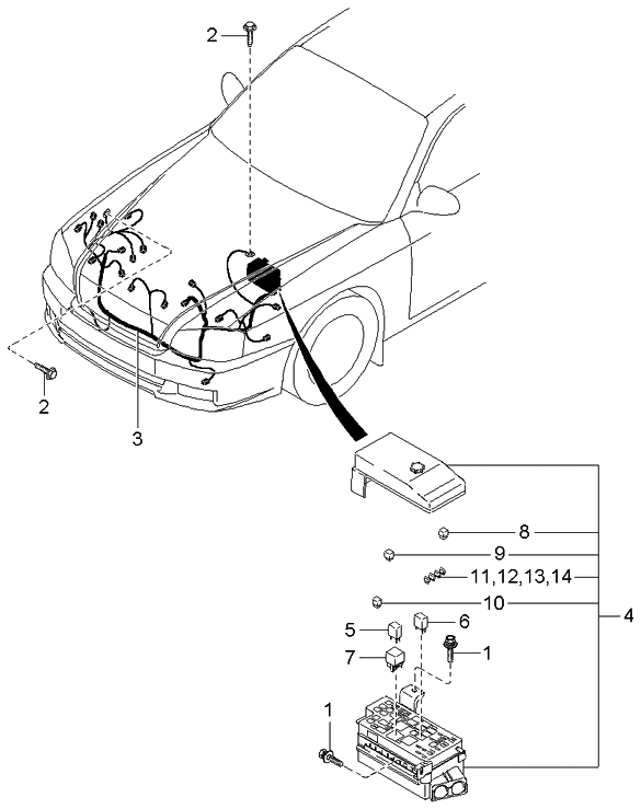 2001 kia optima parts diagram  u2022 wiring diagram for free