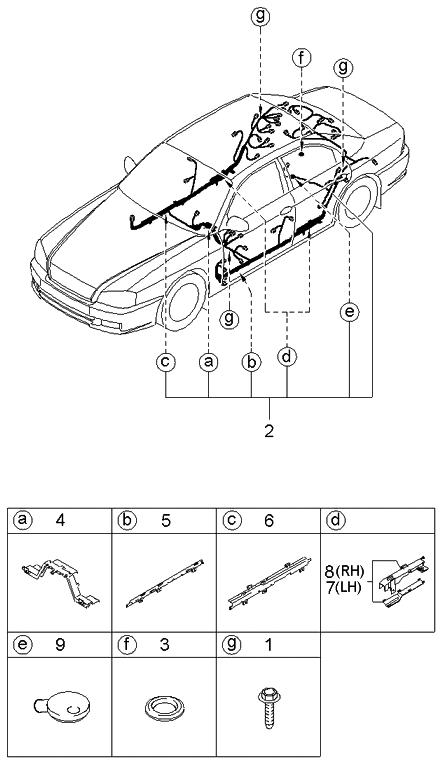 Kia 915003C202 on miata wiring harness, pt cruiser wiring harness, 4runner wiring harness, camry wiring harness,