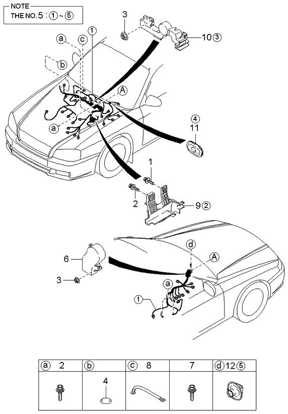 2004 Kia Optima Wiring Diagram