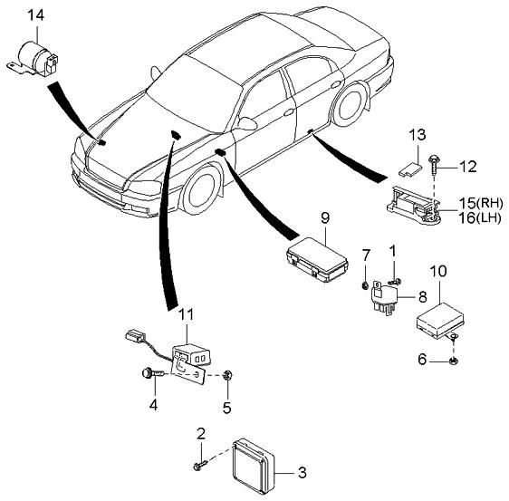 2004 kium optima engine diagram
