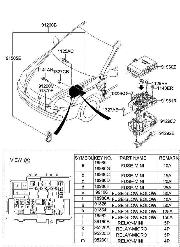 3916025000 genuine kia relay power rh kiapartsnow com 2009 Kia Optima Engine 2008 Kia Optima Troubleshooting