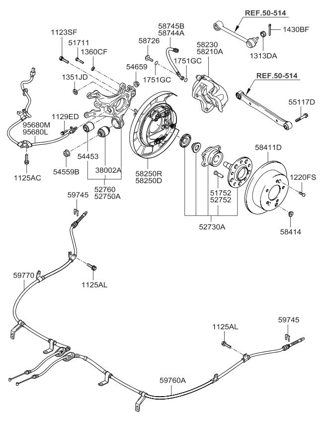 2008 kia optima old body style rear wheel hub wheel brake rh kiapartsnow com bicycle wheel hub diagram wheel bearing hub diagram