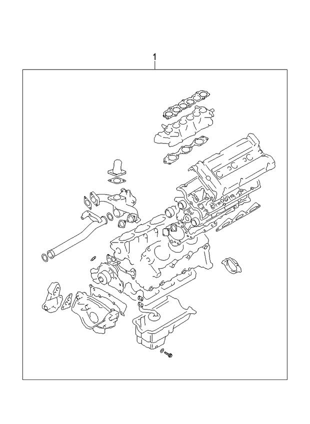 2006 kia amanti old body style engine gasket kit