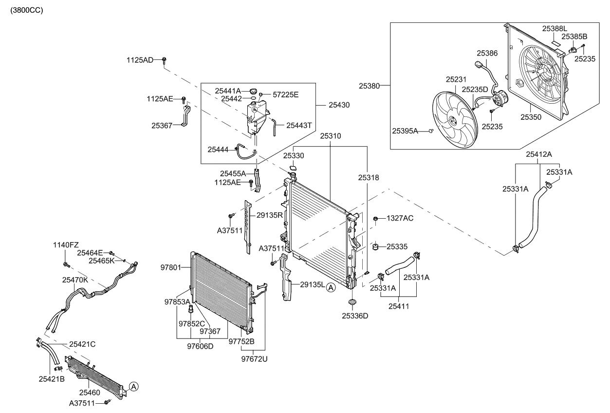 977211g000 Genuine Kia Pressure Sensor 2009 Sportage Engine Diagram Borrego Cooling System