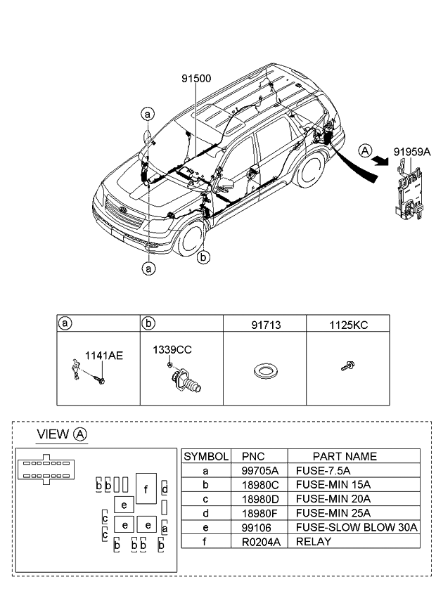 2009 Kia Borrego Wiring Diagram