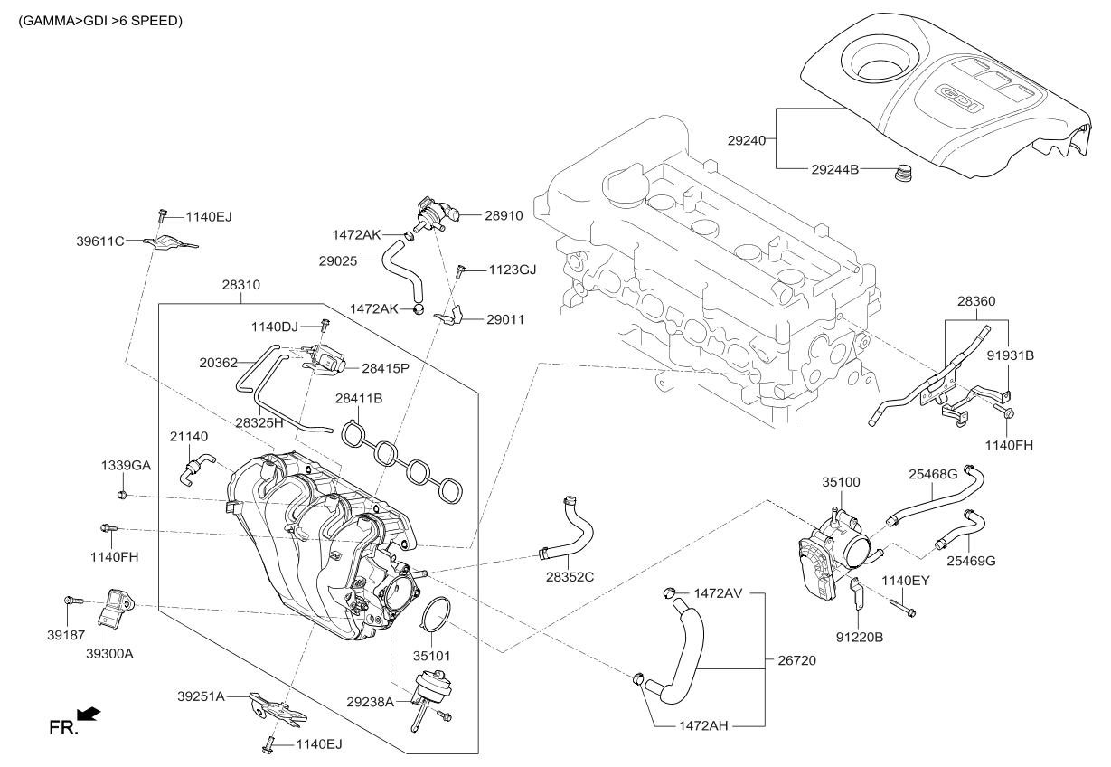 Kium Soul 1 6 Engine Diagram