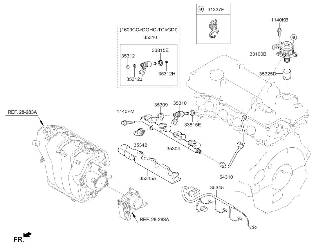 3531204aa0 Genuine Kia Combustion Seal Ring