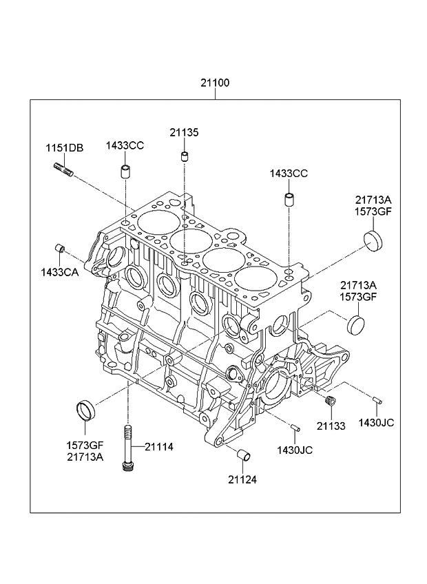 2009 kia rio cylinder block - kia parts now 2009 kia rio engine diagram 2014 kia rio crankshaft position sensor location kia parts