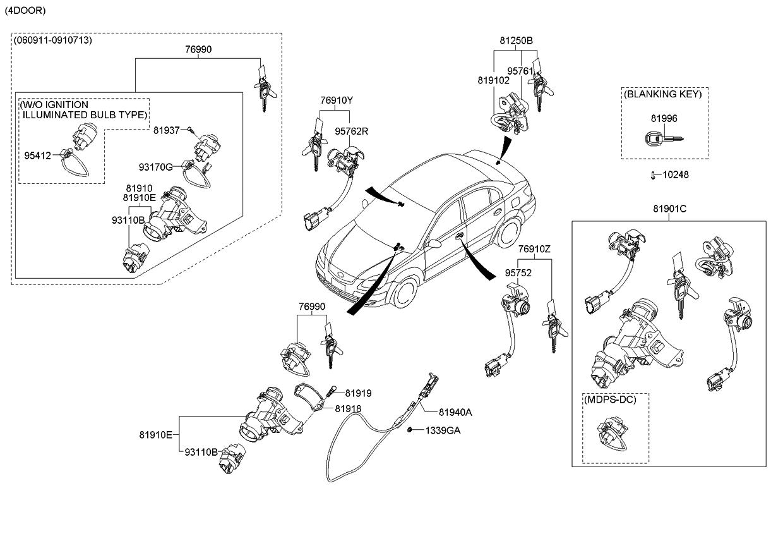 2008 kia rio engine diagram
