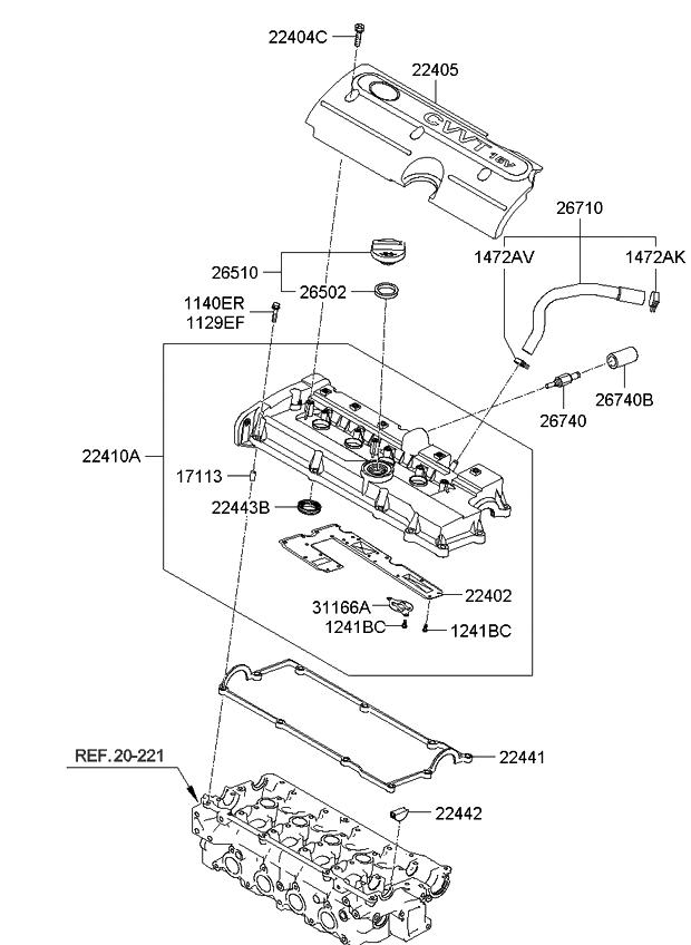 kia cvvt engine diagram  u2022 wiring diagram for free