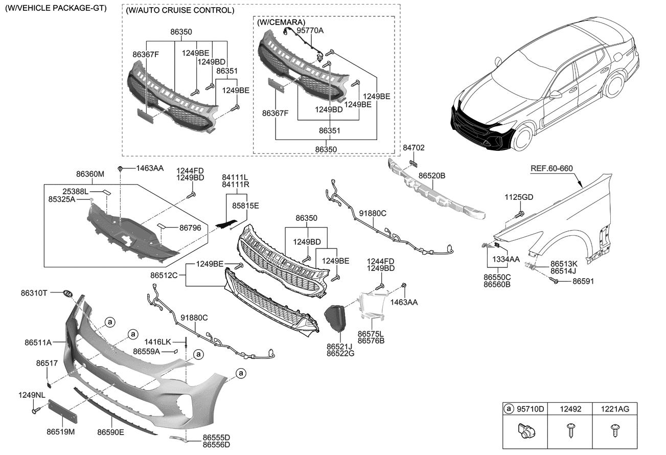 Pleasing 86590J5600 Genuine Kia Lip Assembly Front Bumpe Wiring Digital Resources Operbouhousnl