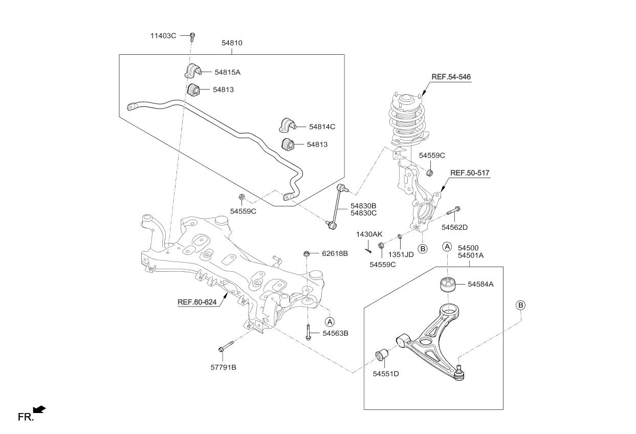 2016 kia optima hybrid front suspension control arm