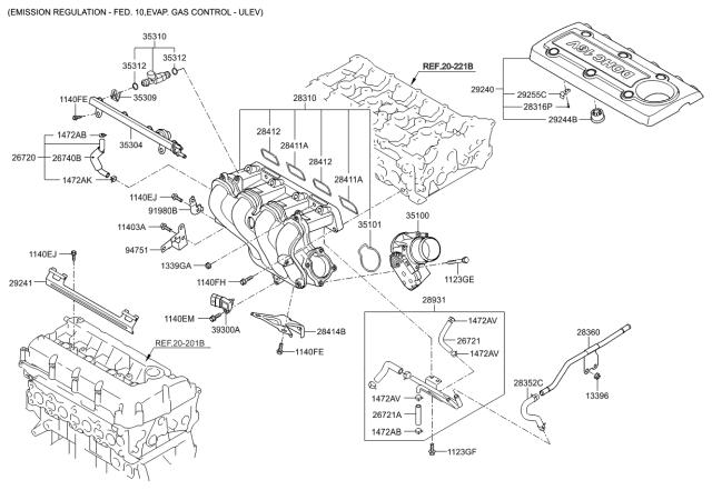 2011 Kia Forte Intake Manifold - Kia Parts NowKia Parts