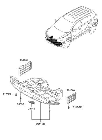 2012 Kia Sportage Under Cover Kia Parts Now
