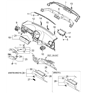 Related Parts for Kia Spectra Glove Box - 845102F100IM