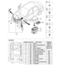 Related Parts for Kia Spectra Relay - 952303A300