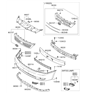 Related Parts for Kia Sedona Emblem - 863534D500