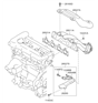Related Parts for Kia Soul Exhaust Manifold - 285112B010