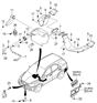 Related Parts for Kia Sorento Ambient Temperature Sensor - 969853E260