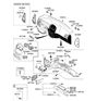 Related Parts for Kia Spectra Glove Box - 845102F10187