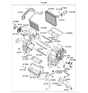 Related Parts for Kia Optima Heater Core - 971382G000